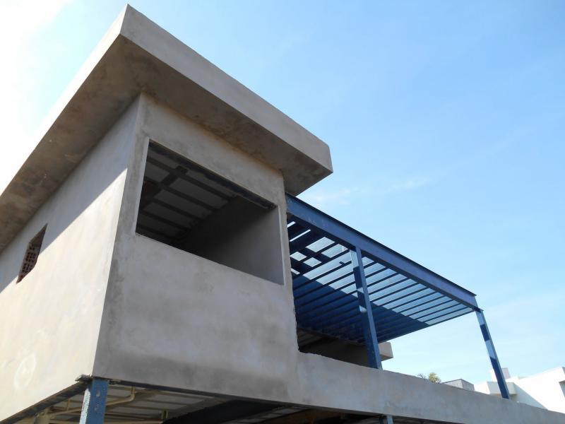 Casas em estrutura metálica