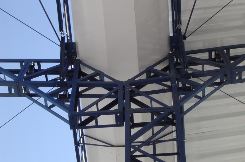 Estrutura metálica para galpões