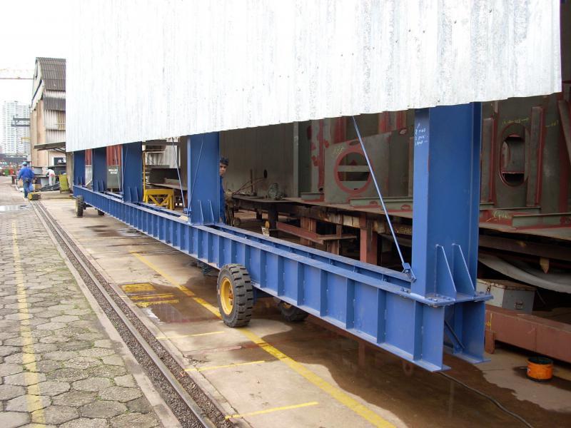Galpão estrutura metálica