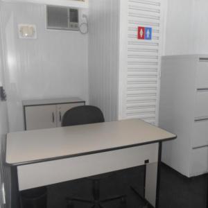 Container escritorio com banheiro
