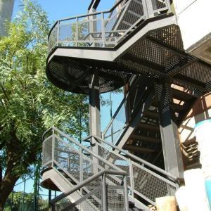 Escada metalica industrial