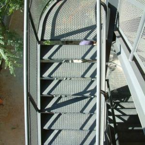 Escada metálica industrial