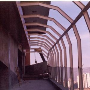 Passarela estrutura metalica